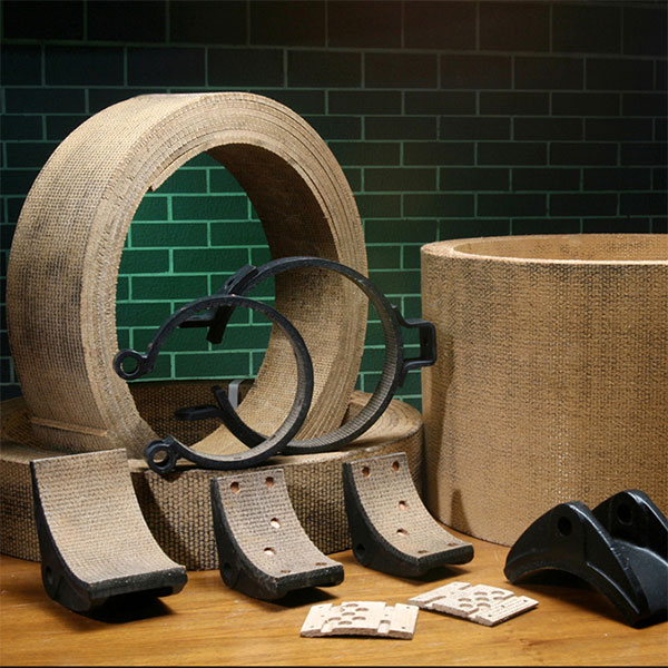 Woven Brake Lining Material : Friction materials brake disc pads clutch buttons